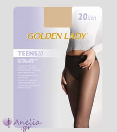 Golden Lady Teens 20Den Ελαστικό Καλσόν Χαμηλοκάβαλο